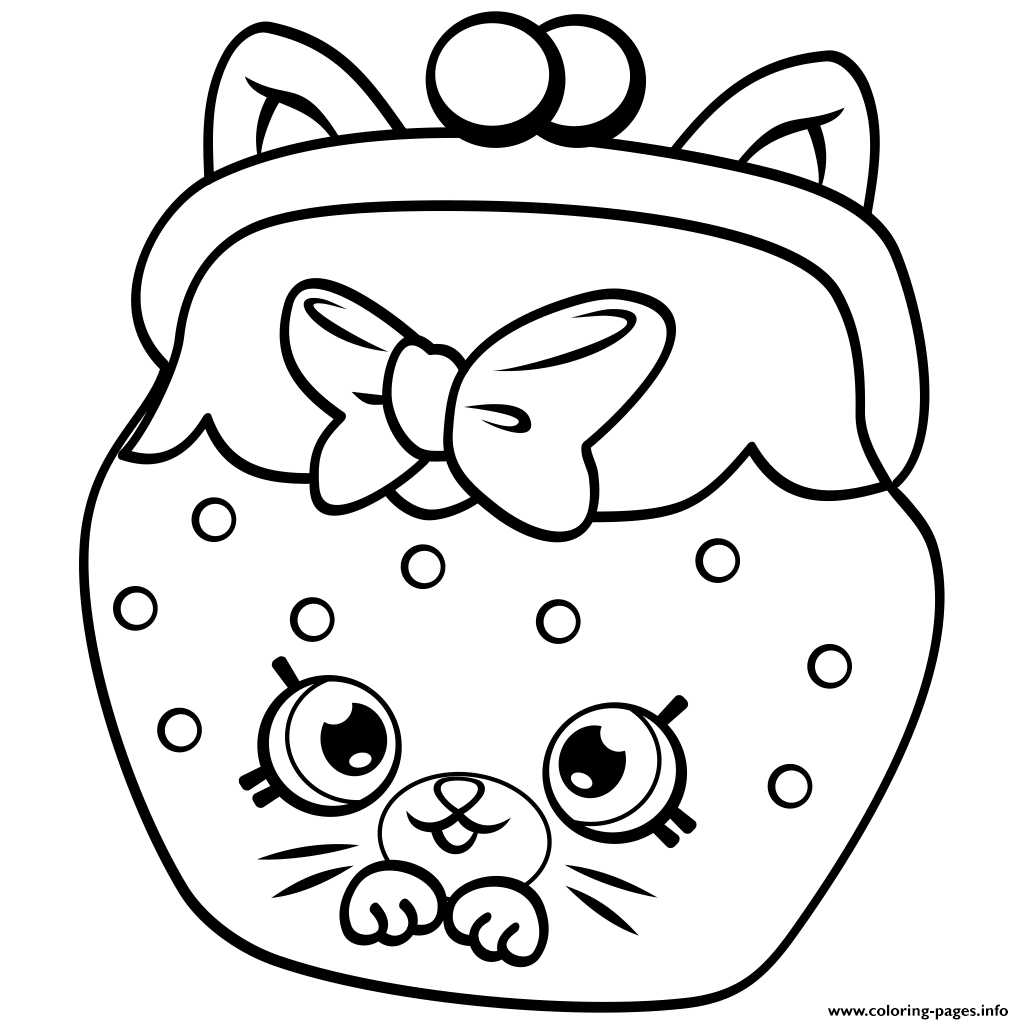 Petkins Cat Snout Petkins Shopkins Coloring Pages Printable