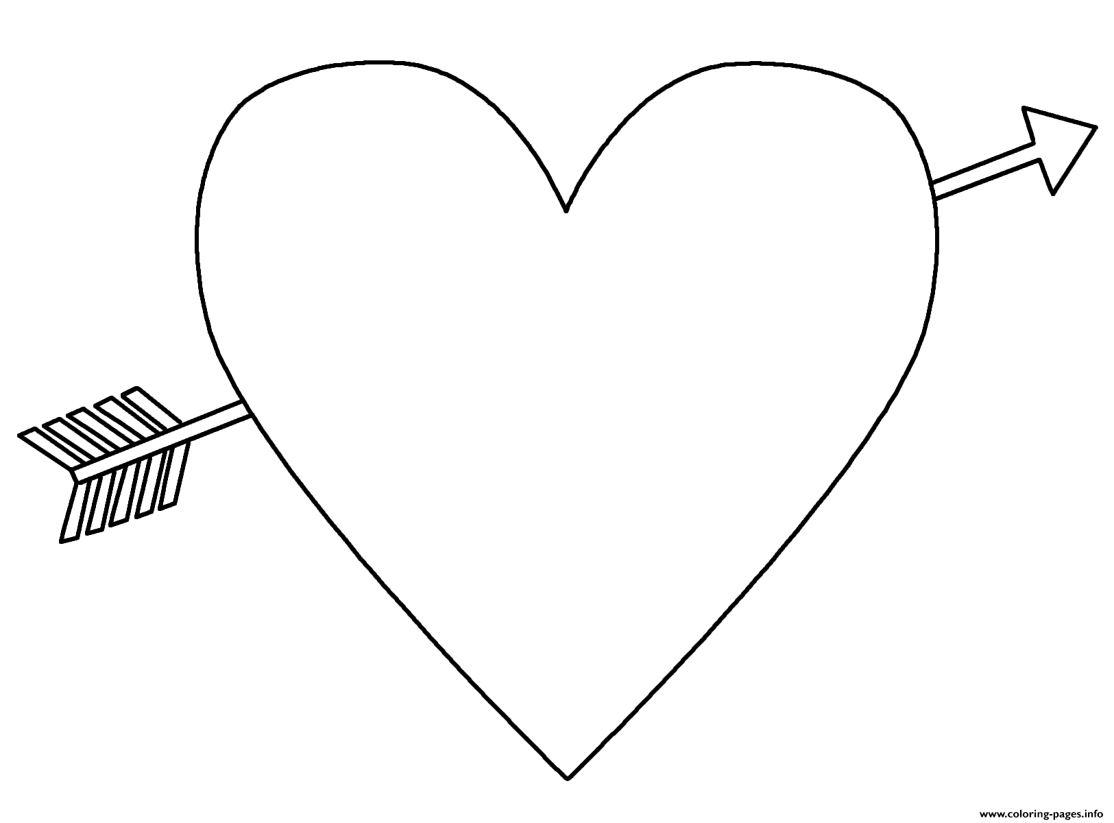 Heart With An Arrow Emoji Coloring Pages Print Download 215 Prints