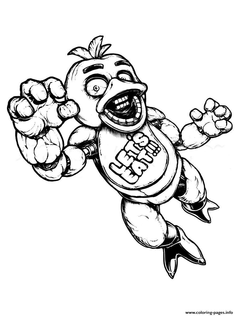 Dibujos Five Nights At Freddy S Para Colorear Buscar Con