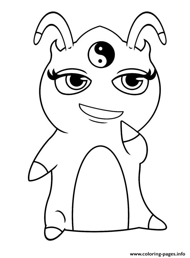 Slugterra Harmony Coloring Pages