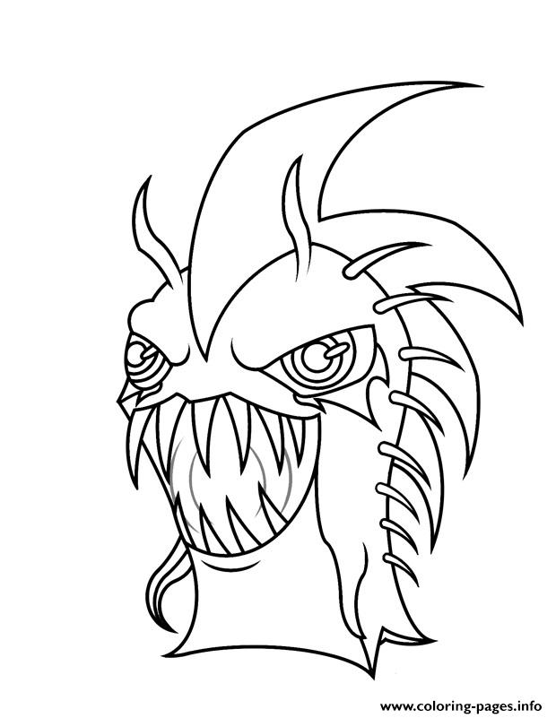 Slugterra Ghouls Coloring Pages