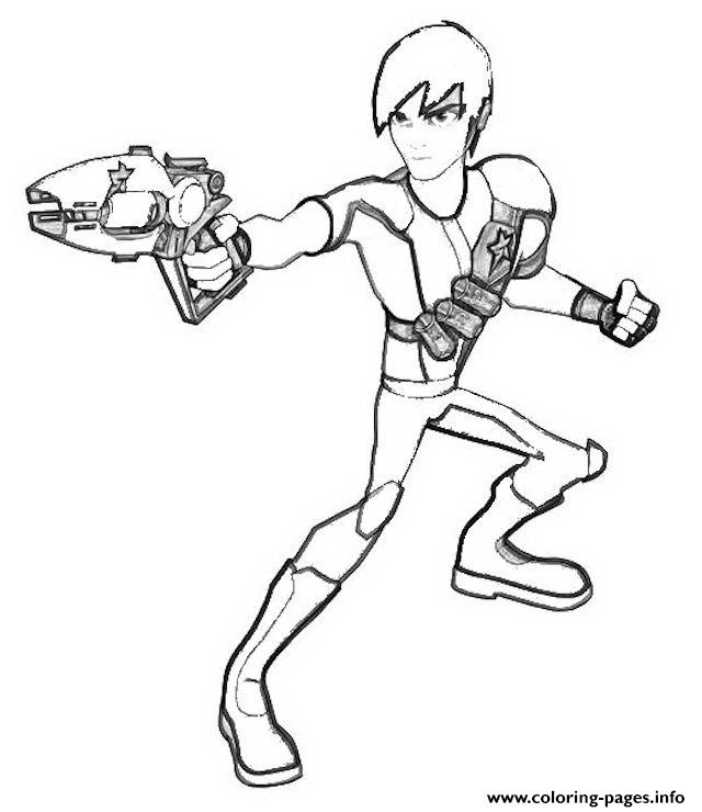 Slugterra 89 coloring pages
