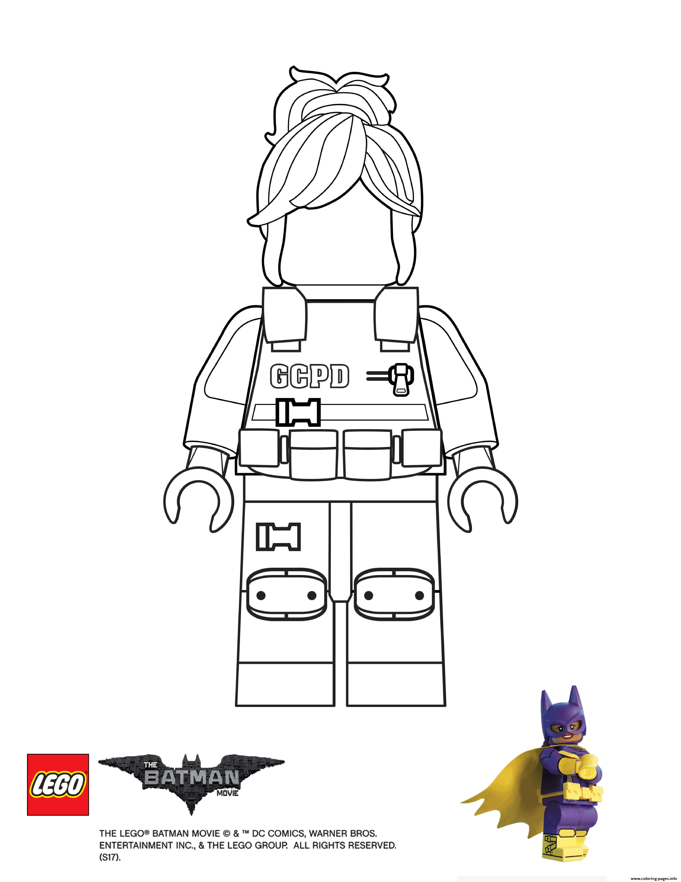 BarbGor Lego Batman Movie coloring pages