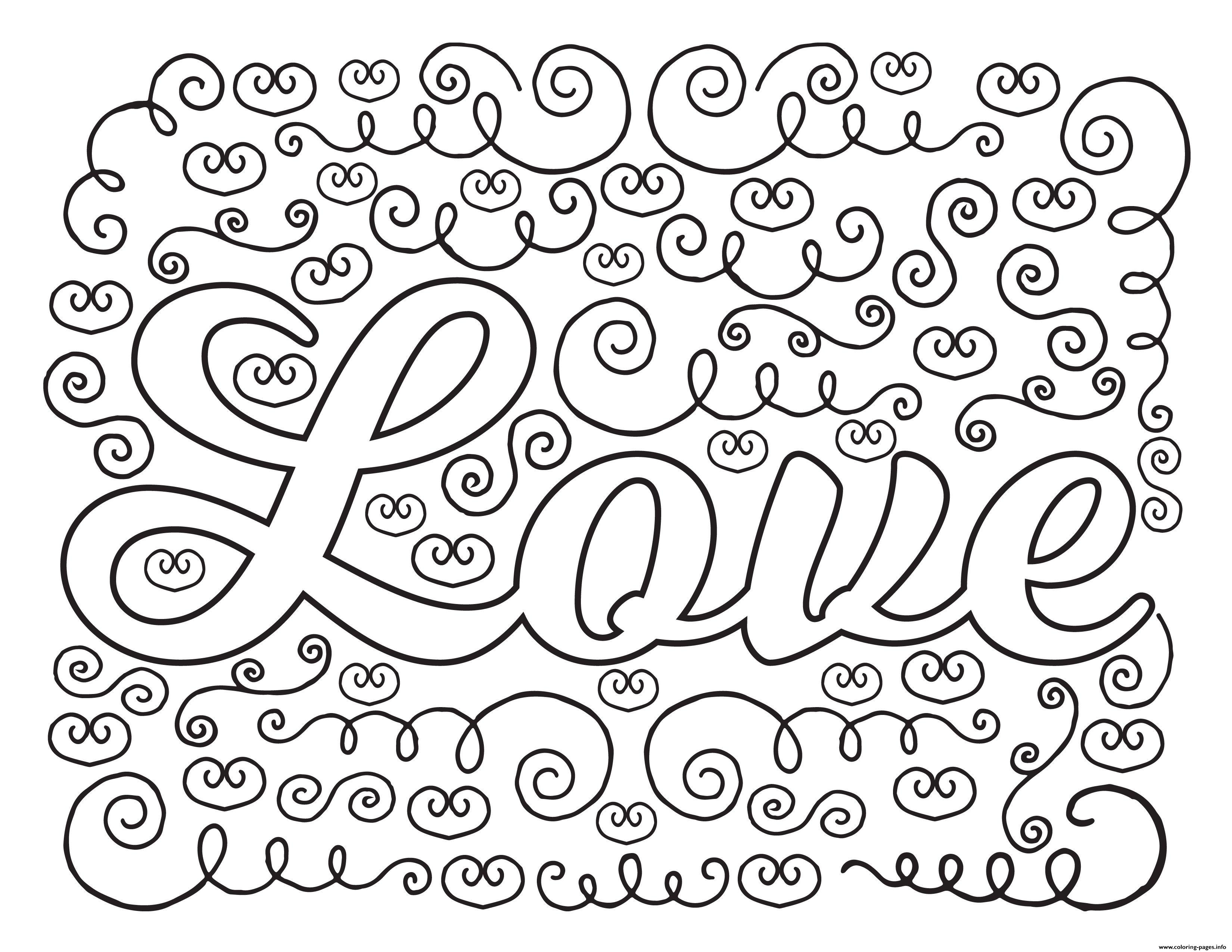 Love Adult Valentines coloring pages