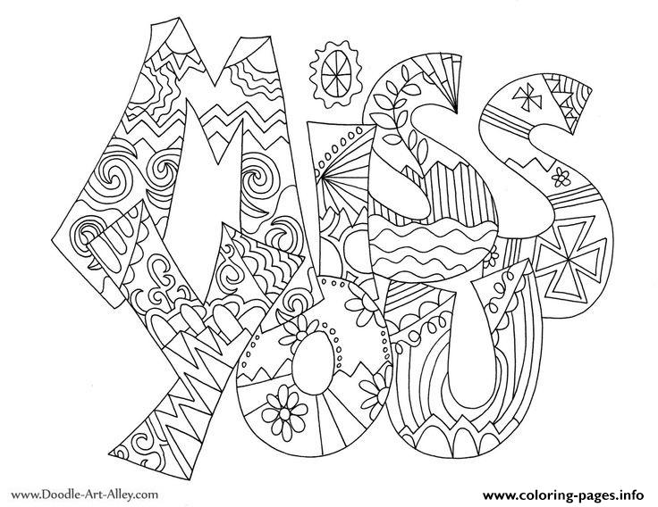 I miss you valentines coloring pages