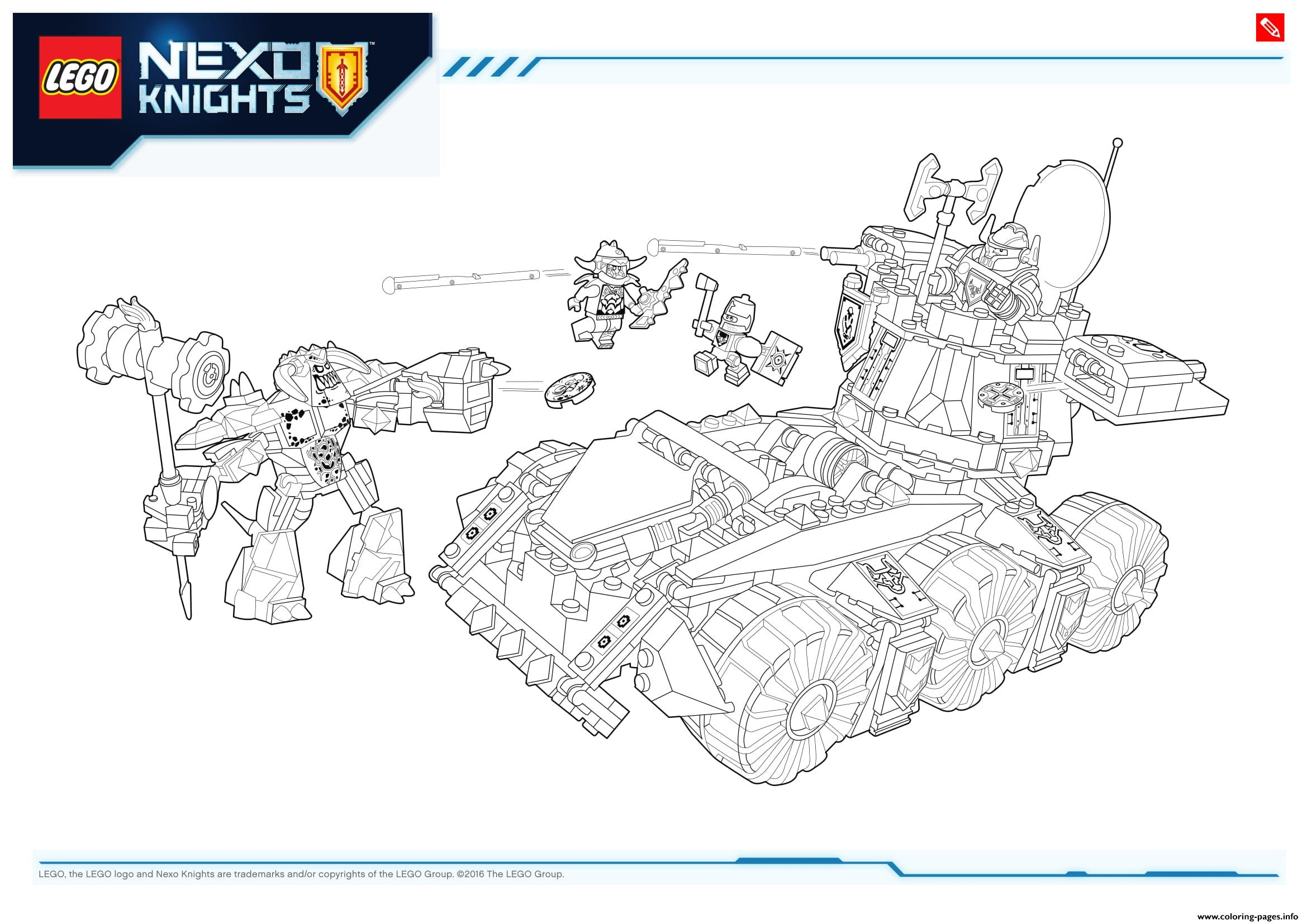 Lego NEXO KNIGHTS Products 2 Coloring