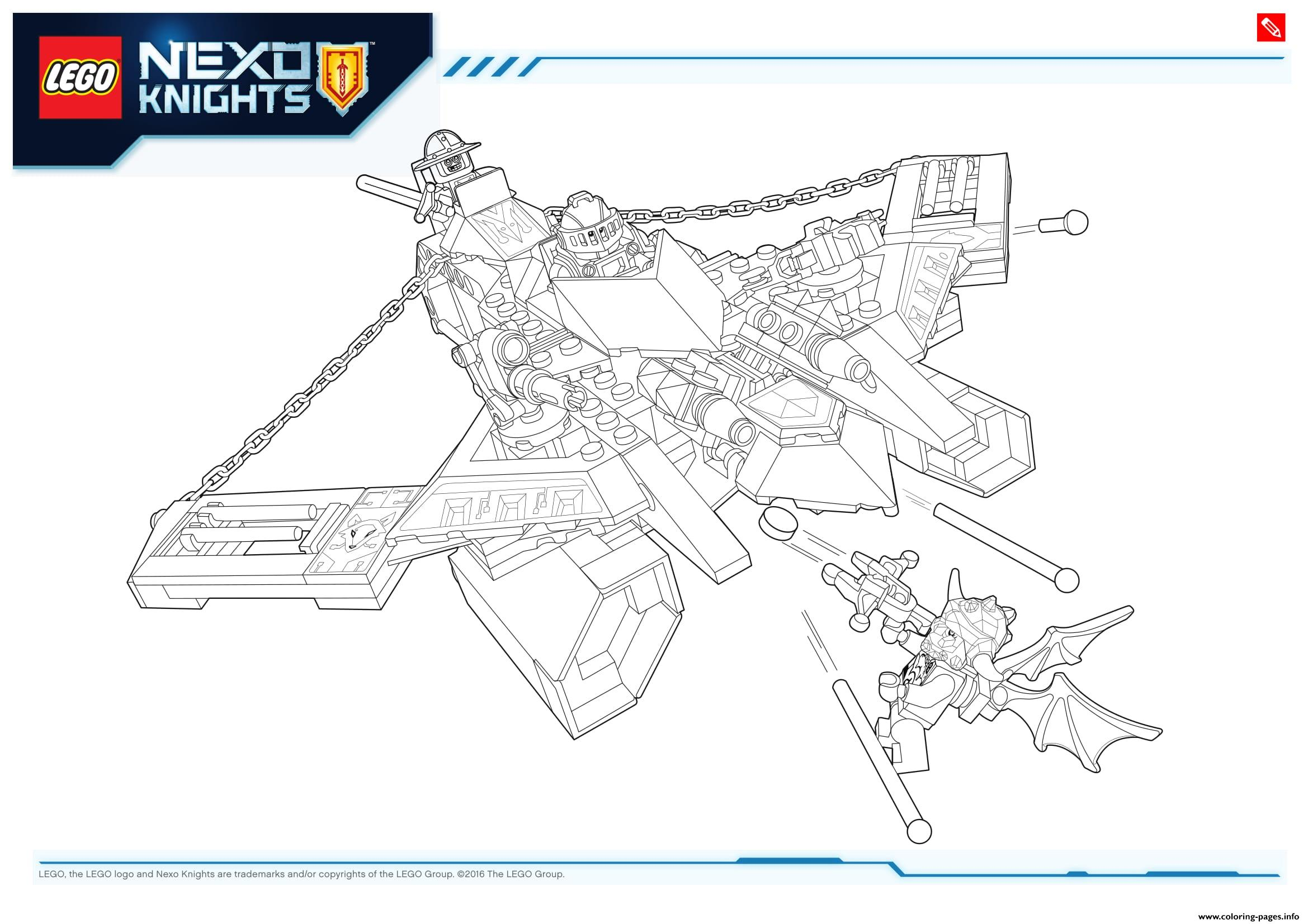 Lego NEXO KNIGHTS Products 1 Coloring Pages Printable