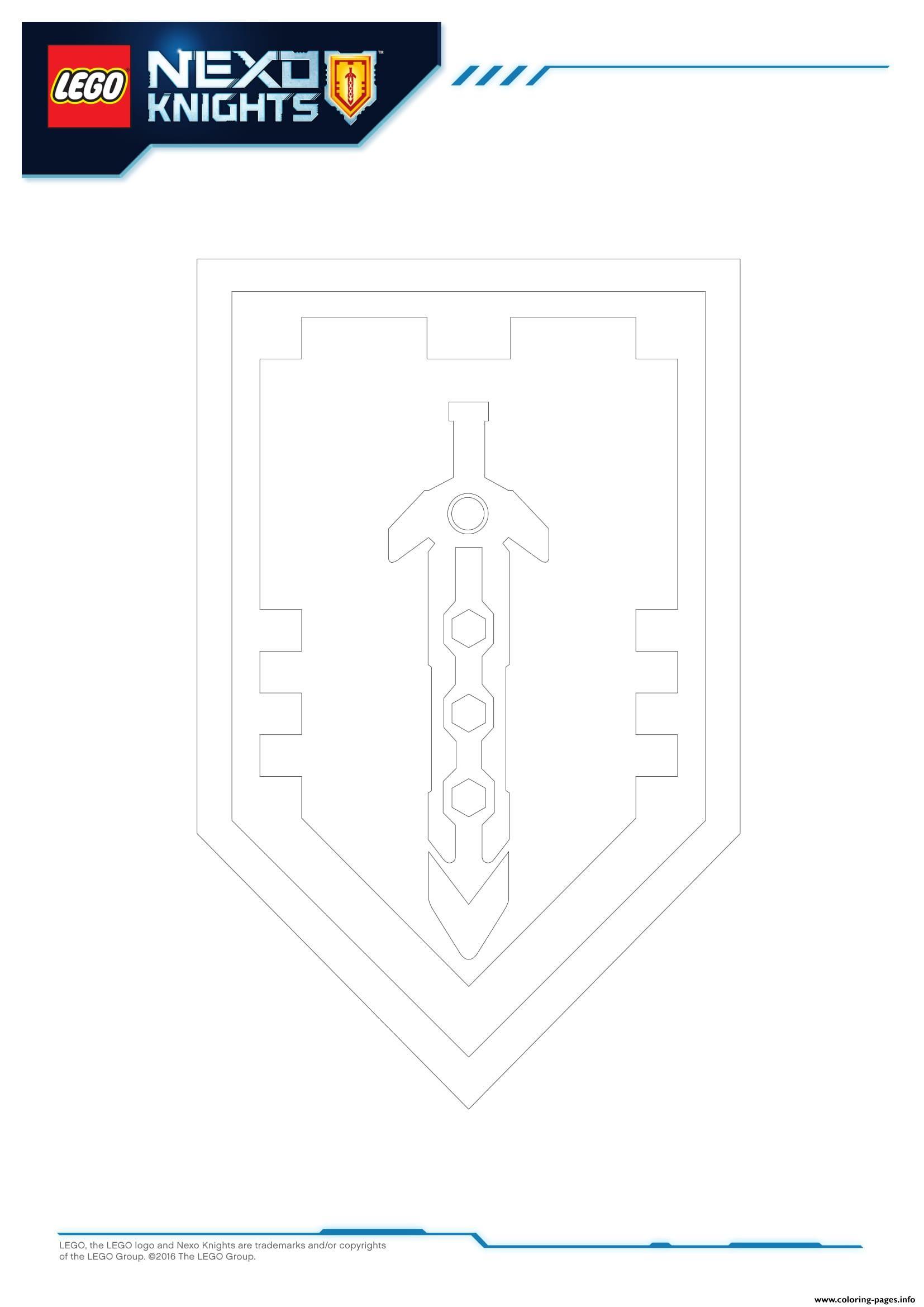 Lego Nexo Knights Shields 7