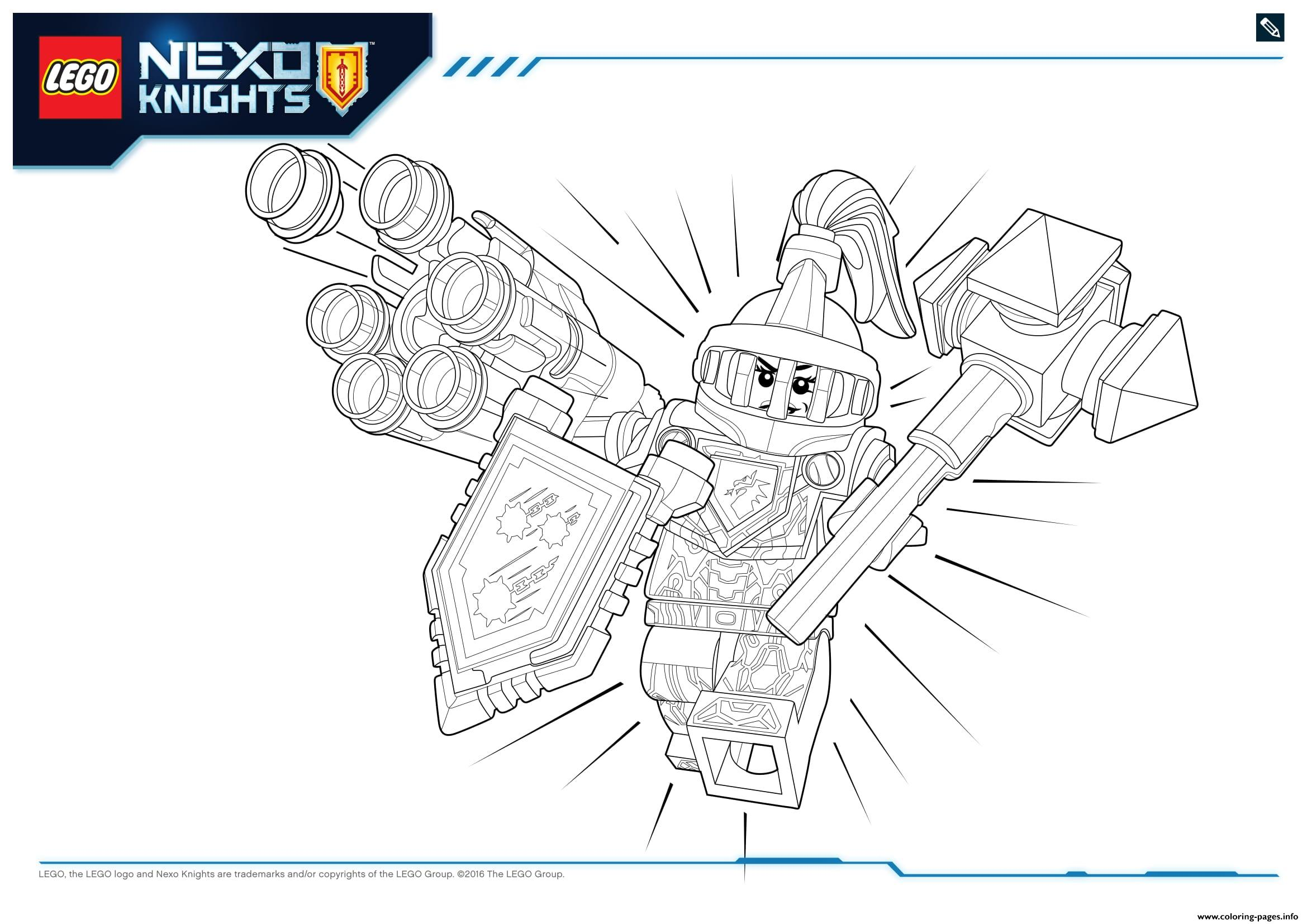 Lego Nexo Knights Ultimate Knights 1 coloring pages