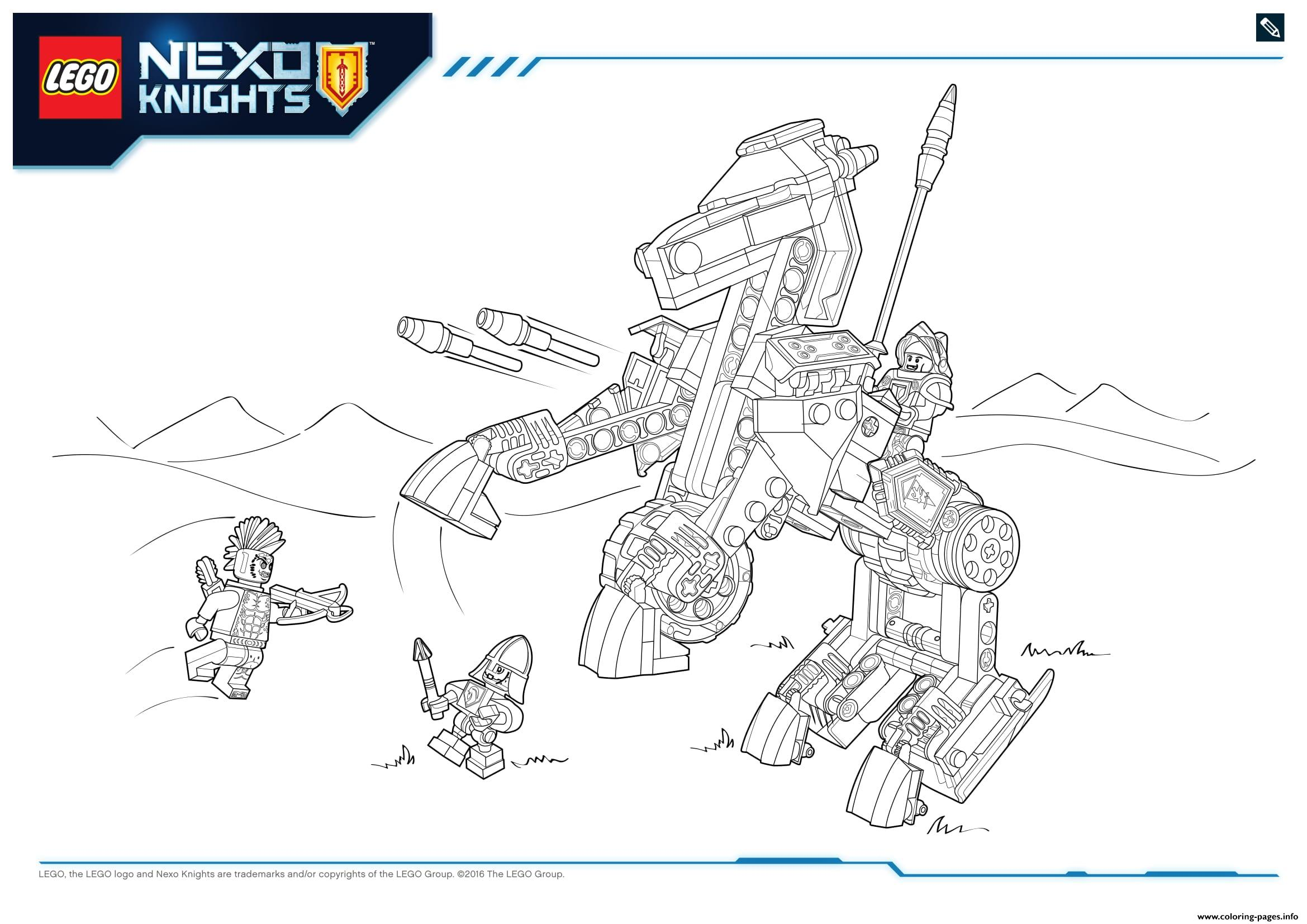 Lego NEXO KNIGHTS Products 6 Coloring