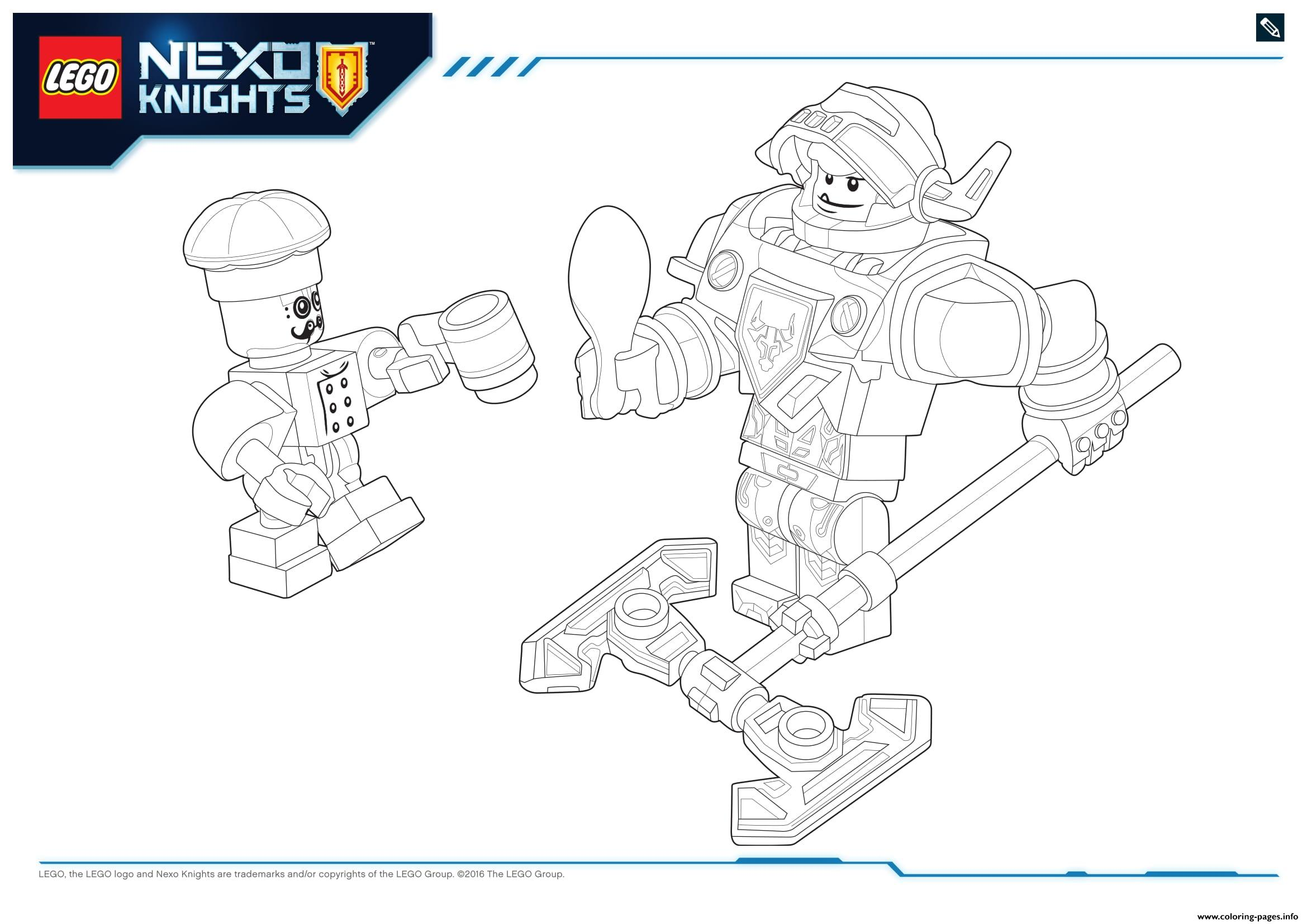 lego nexo knights products 8 coloring pages