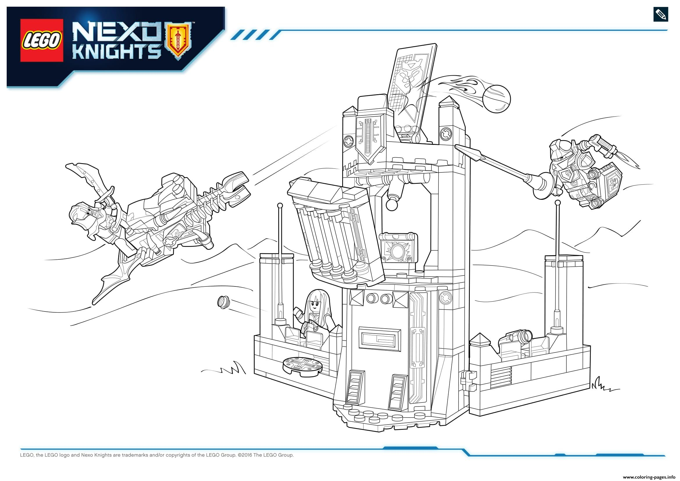 Lego NEXO KNIGHTS Products 9 coloring pages