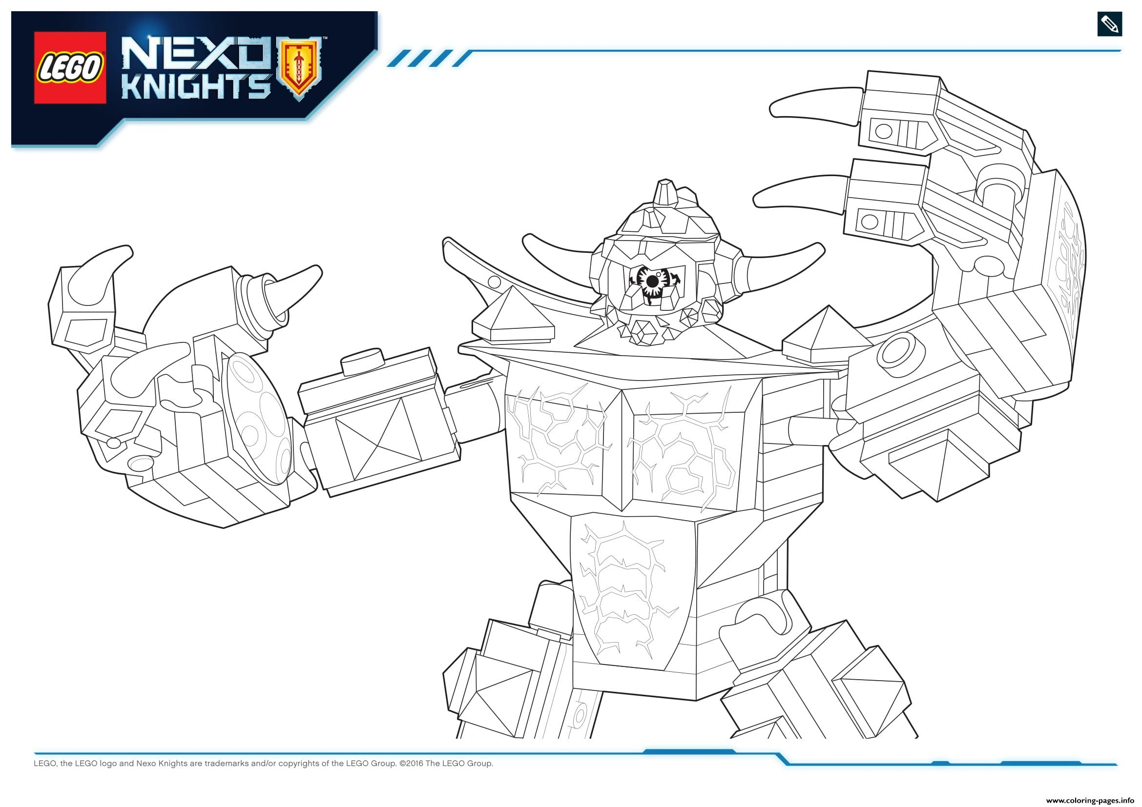 lego nexo knights monster productss 5 coloring pages printable