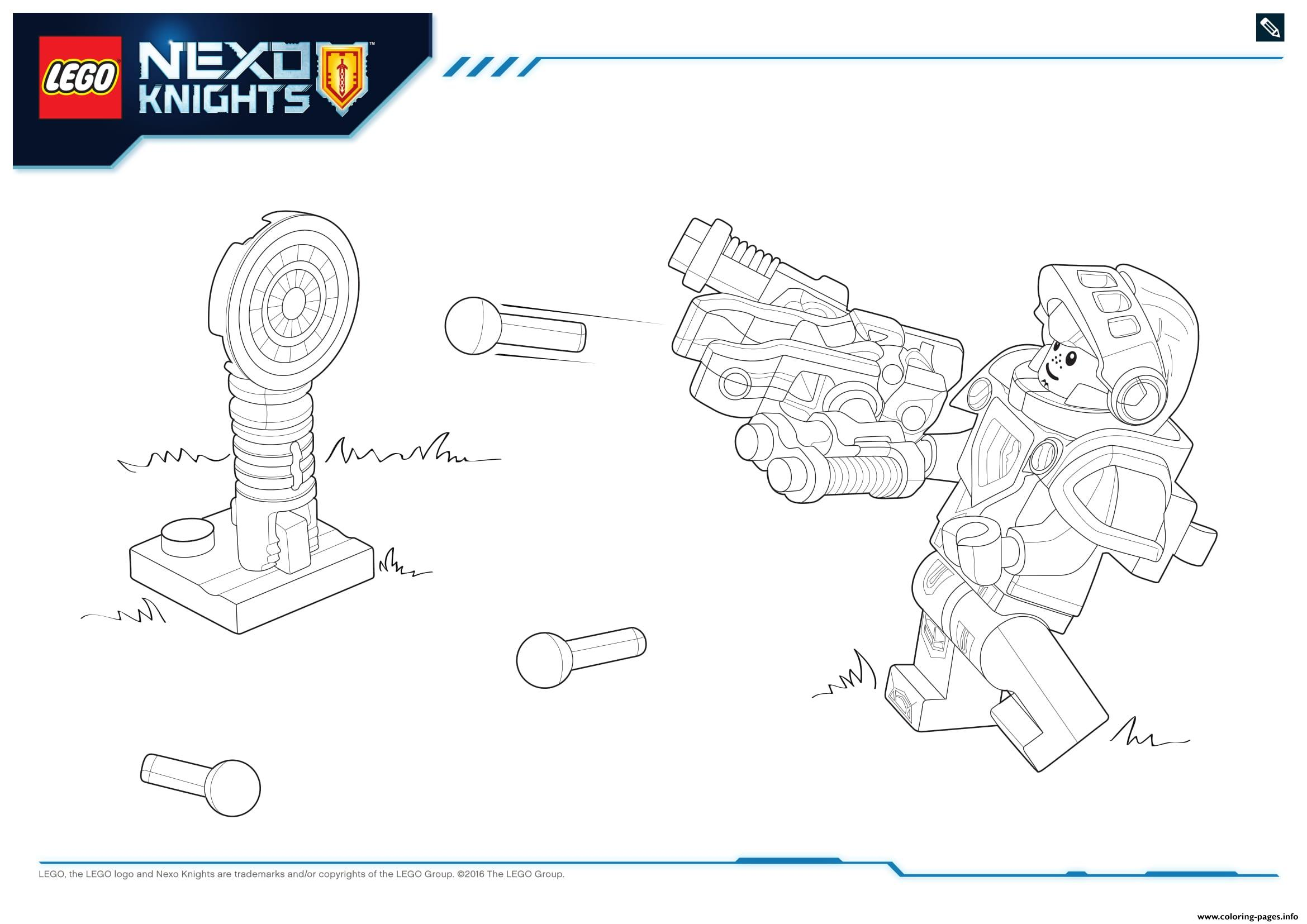 Lego NEXO KNIGHTS Products 7 coloring pages