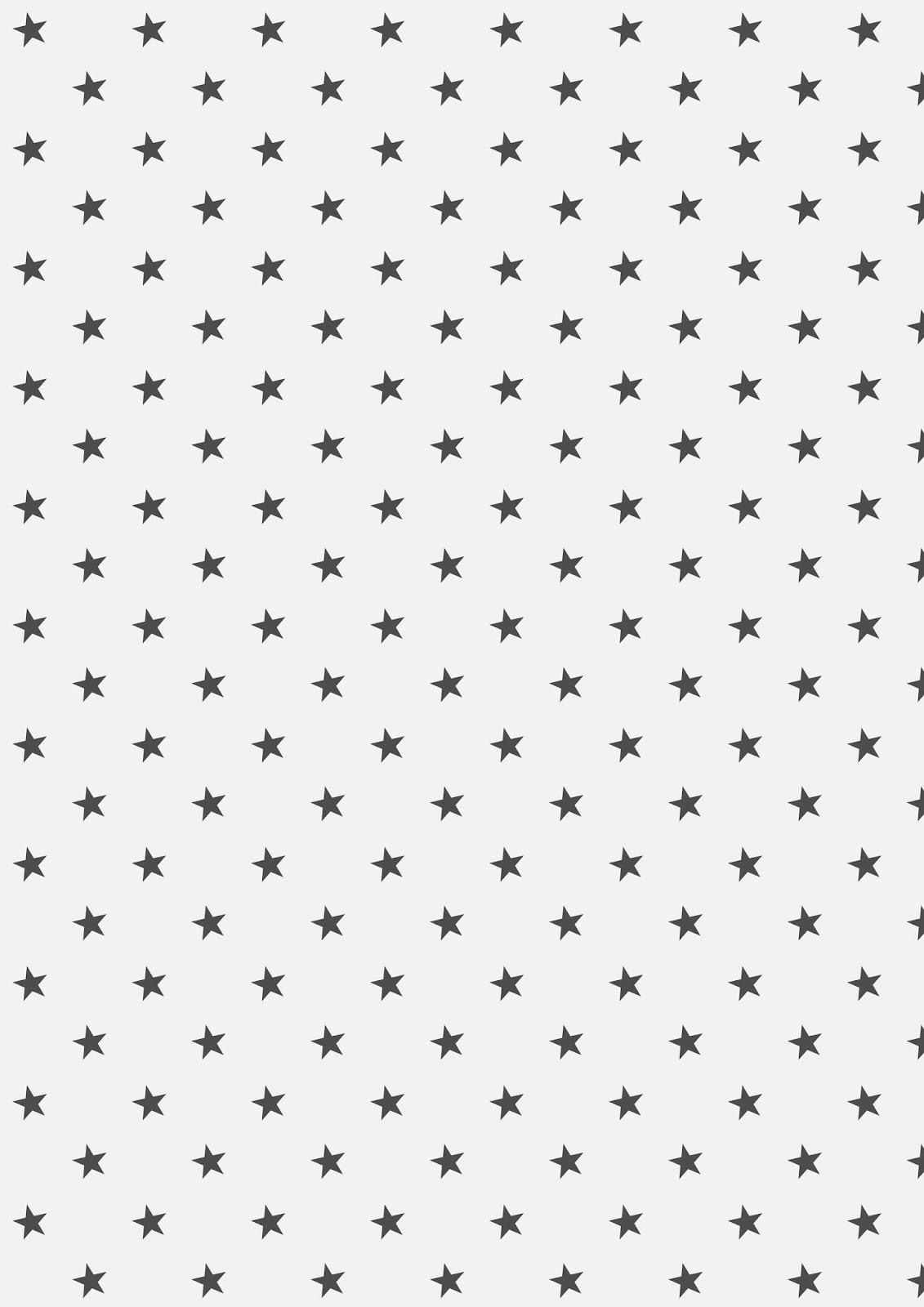 It is a picture of Printable Stars with pattern