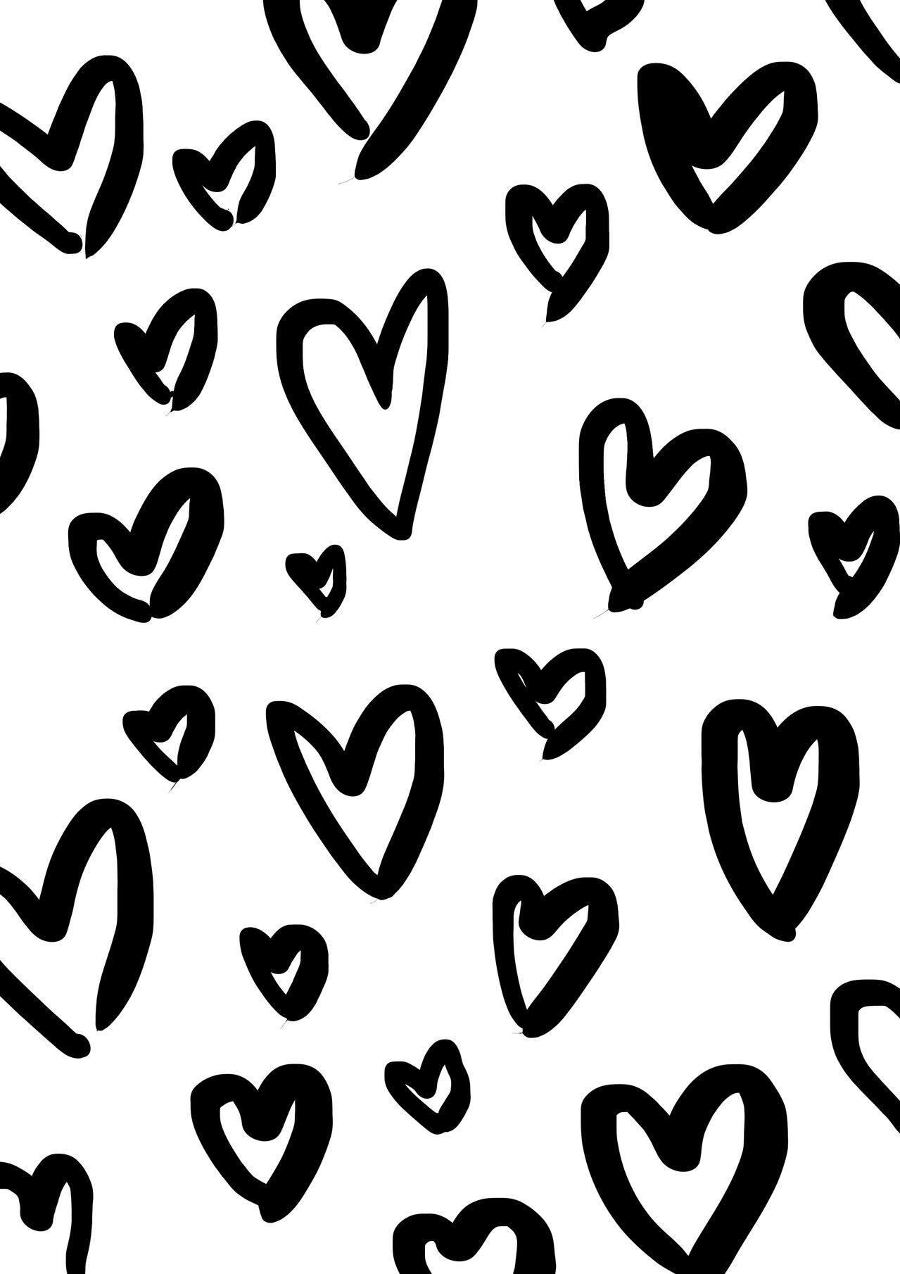 printable wrapping paper hearts by maiko nagao coloring pages