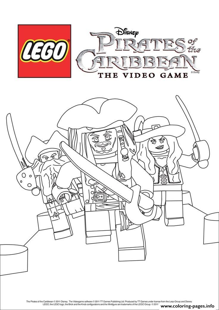 Lego Pirates Disney Pirates Of