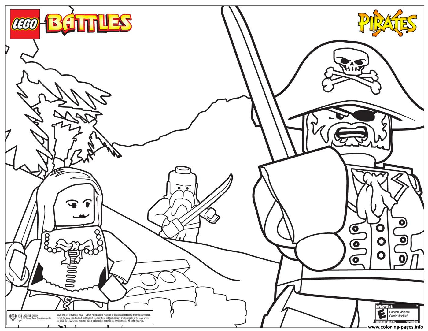 lego pirates coloring pages free download printable