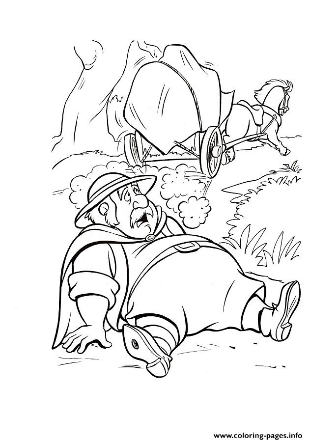 Belles Dad Fall 9fa3 Beauty And Beast Disney Coloring Pages