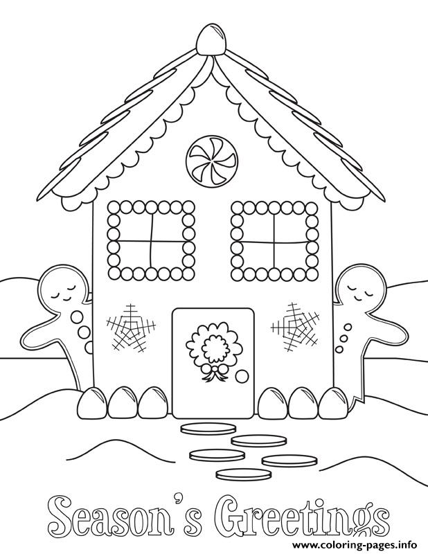 Christmas Gingerbread Man coloring page | Free Printable Coloring ... | 800x618