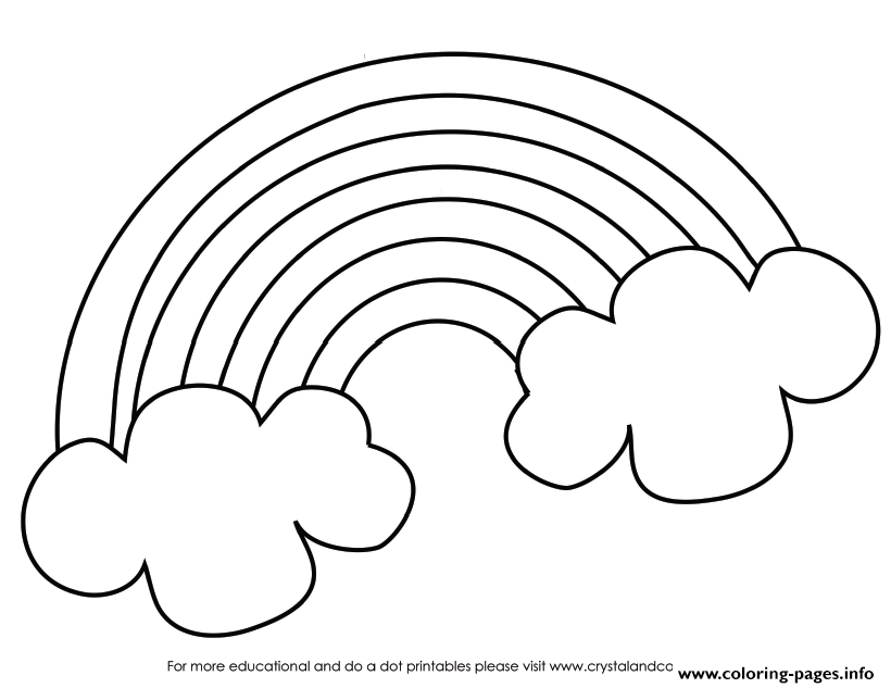 Pot Of Gold Coloring Pages Printable