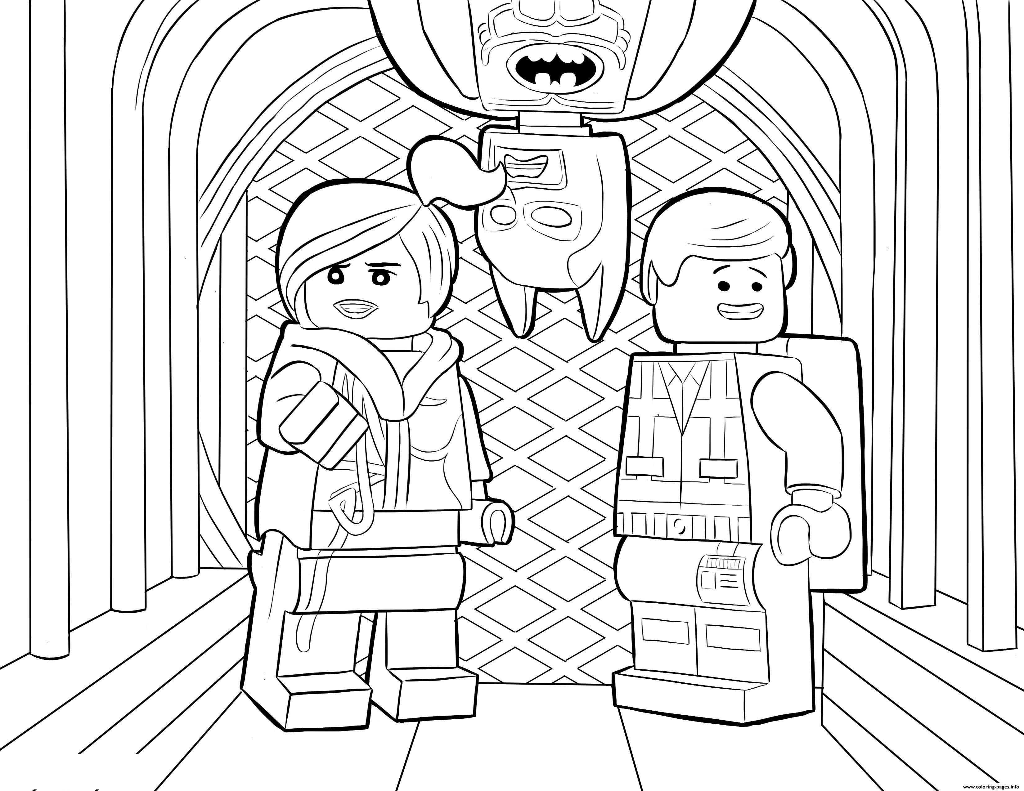 Lego Batman Sheet coloring pages