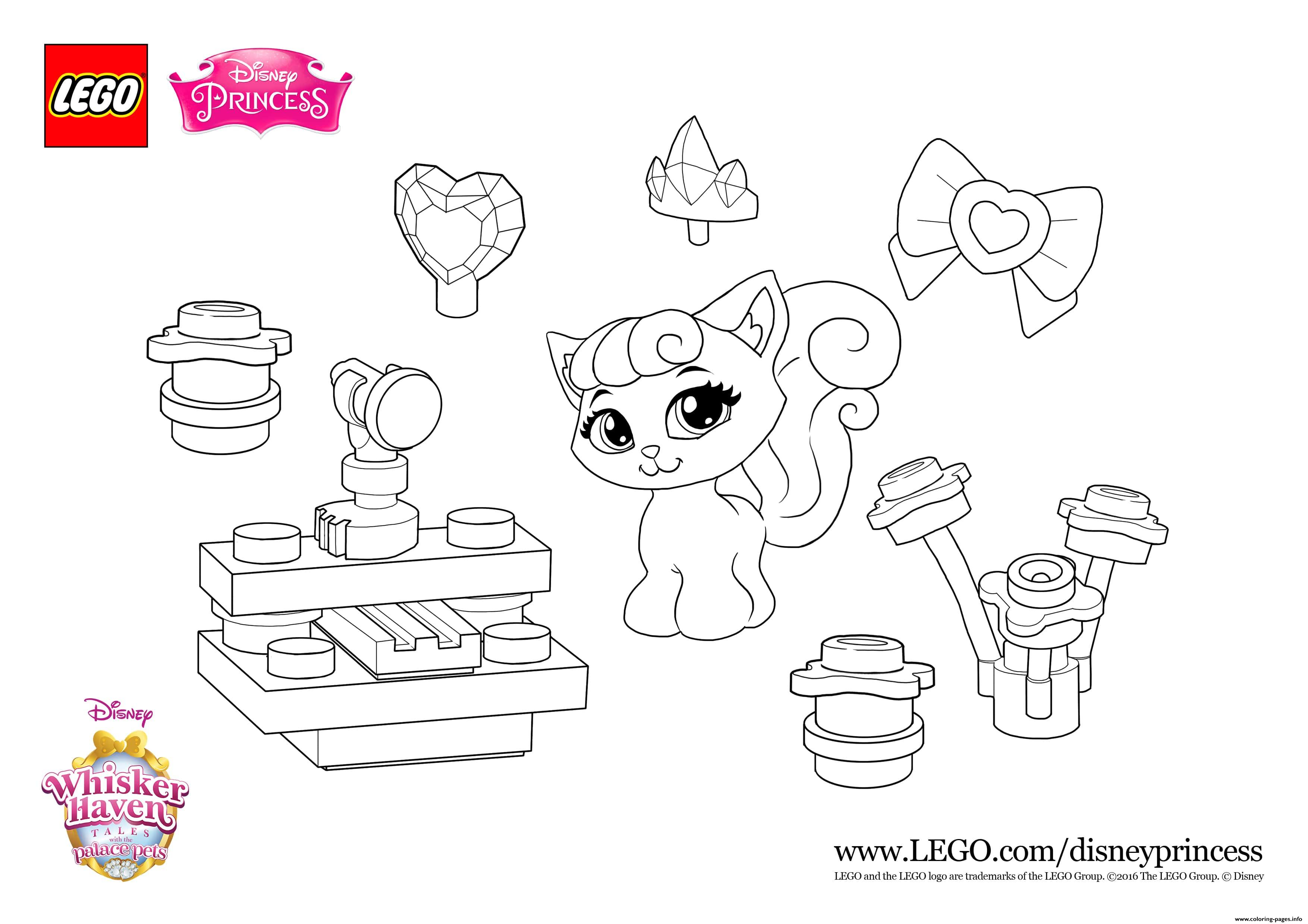 Color Fun With Dreamy Lego Disney Coloring Pages Printable