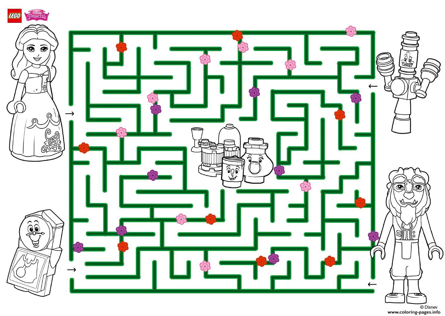 Explore The Amazing Maze Lego Disney