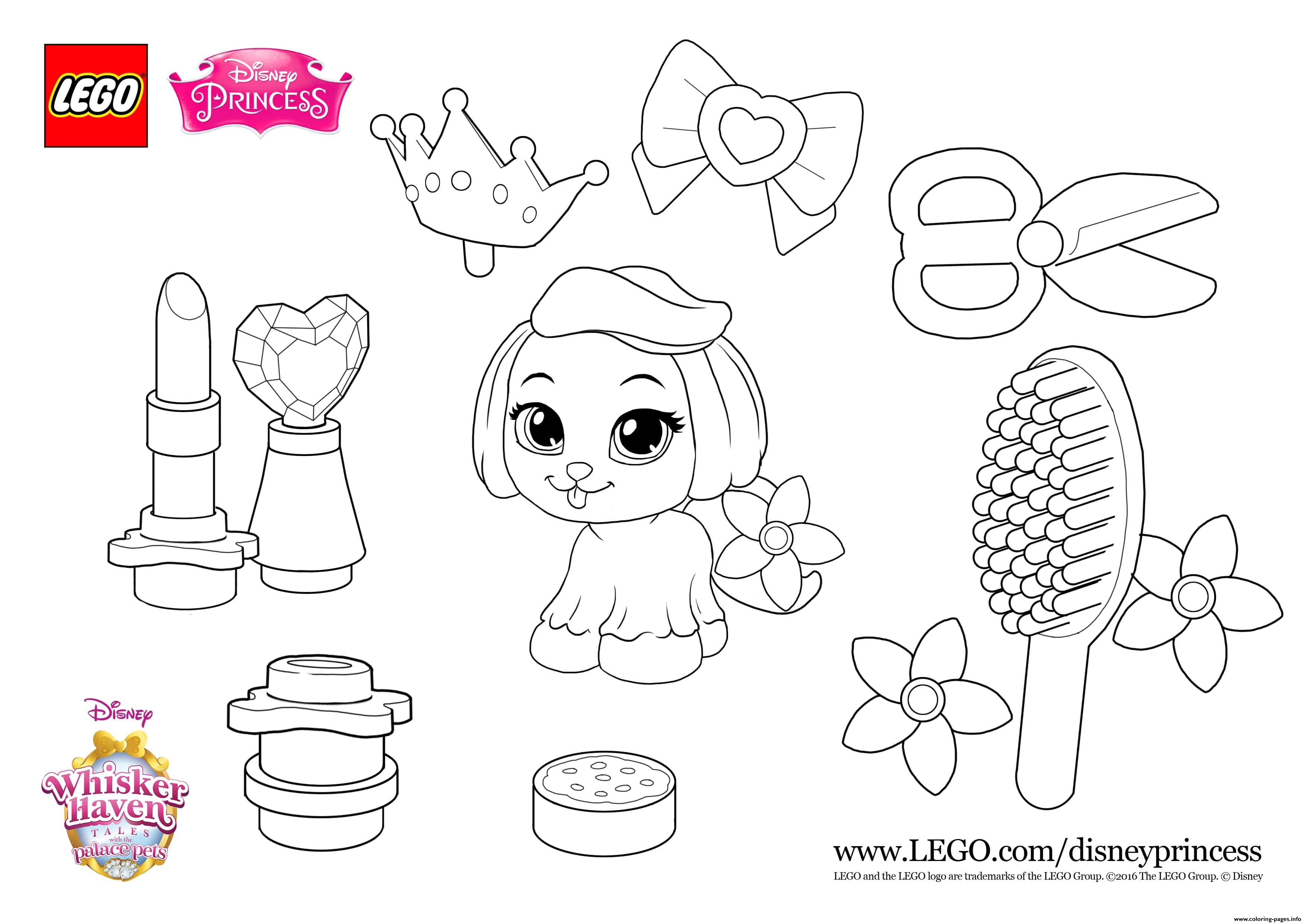 Color Fun With Daisy Lego Disney Coloring Pages