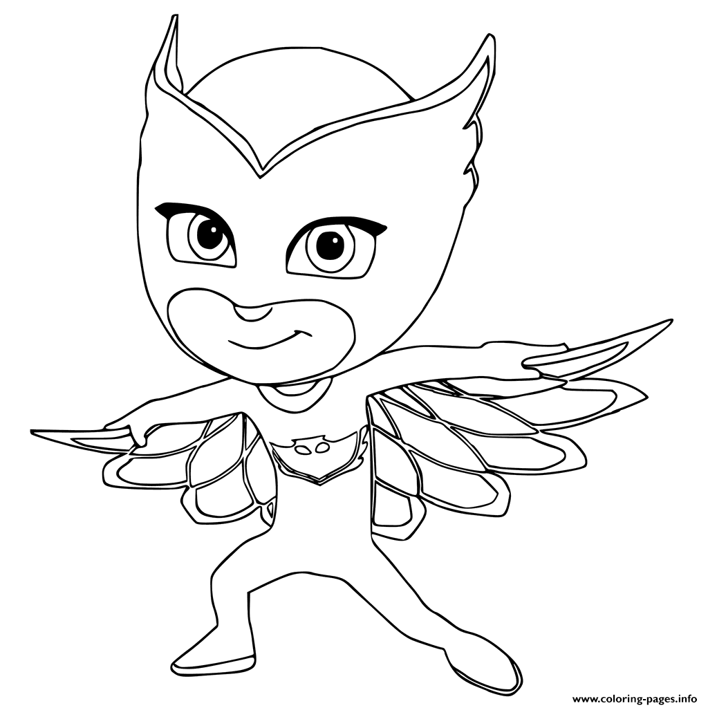 Coloring Pages To Print : Owlette coloring pages printable