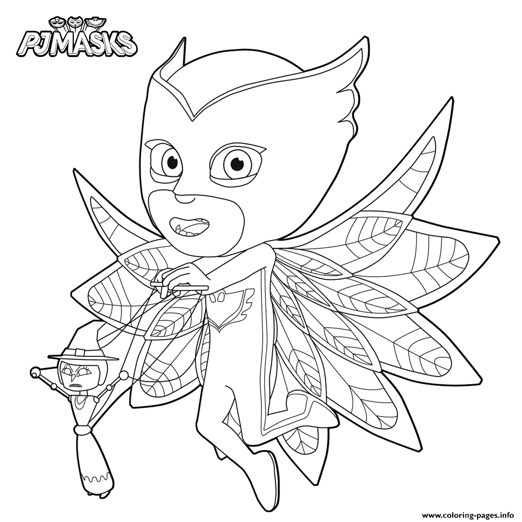 Disney pj masks coloring sheets - Disney Pj Masks Coloring Sheets 32