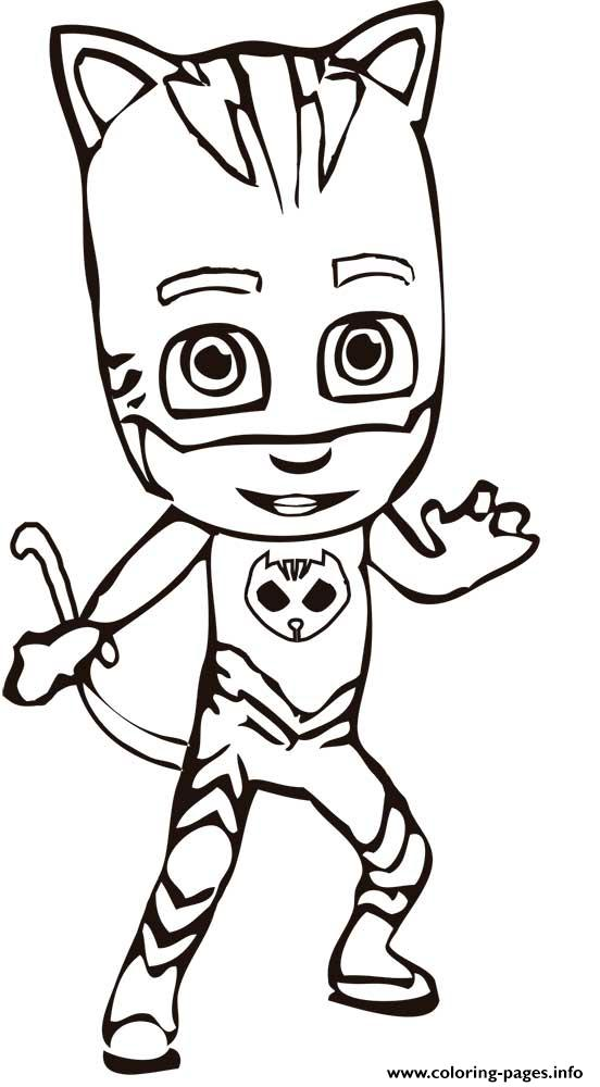 pj masks is ready coloring pages
