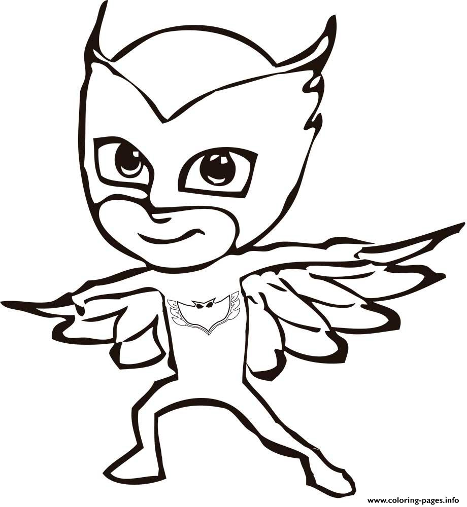 pj masks coloring pages printable
