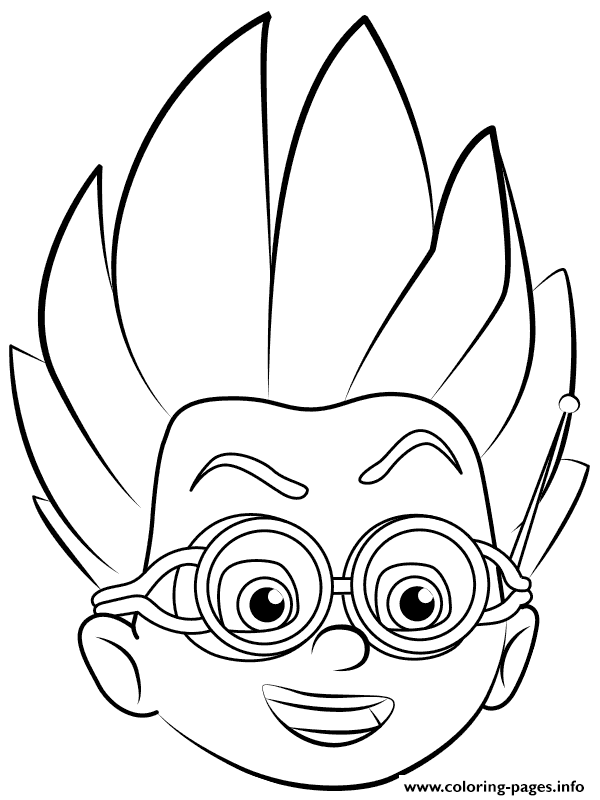 romeo pj masks coloring pages printable