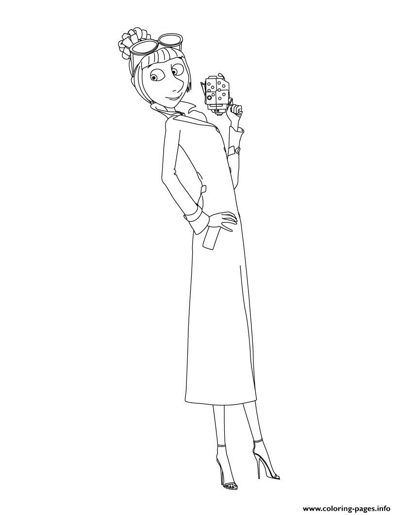 Despicable Me 3 Lucy Coloring Pages Printable