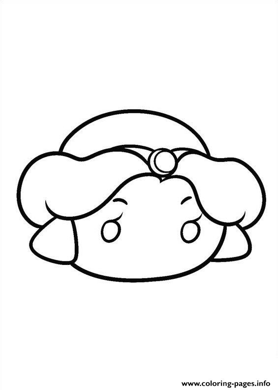 Tsum Tsum Aladin coloring pages