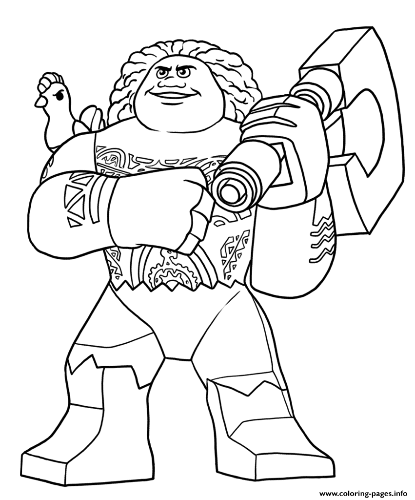 It's just a photo of Insane Maui Coloring Pages