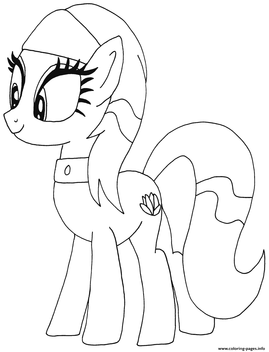 Lotus Blossom My Little Pony coloring pages