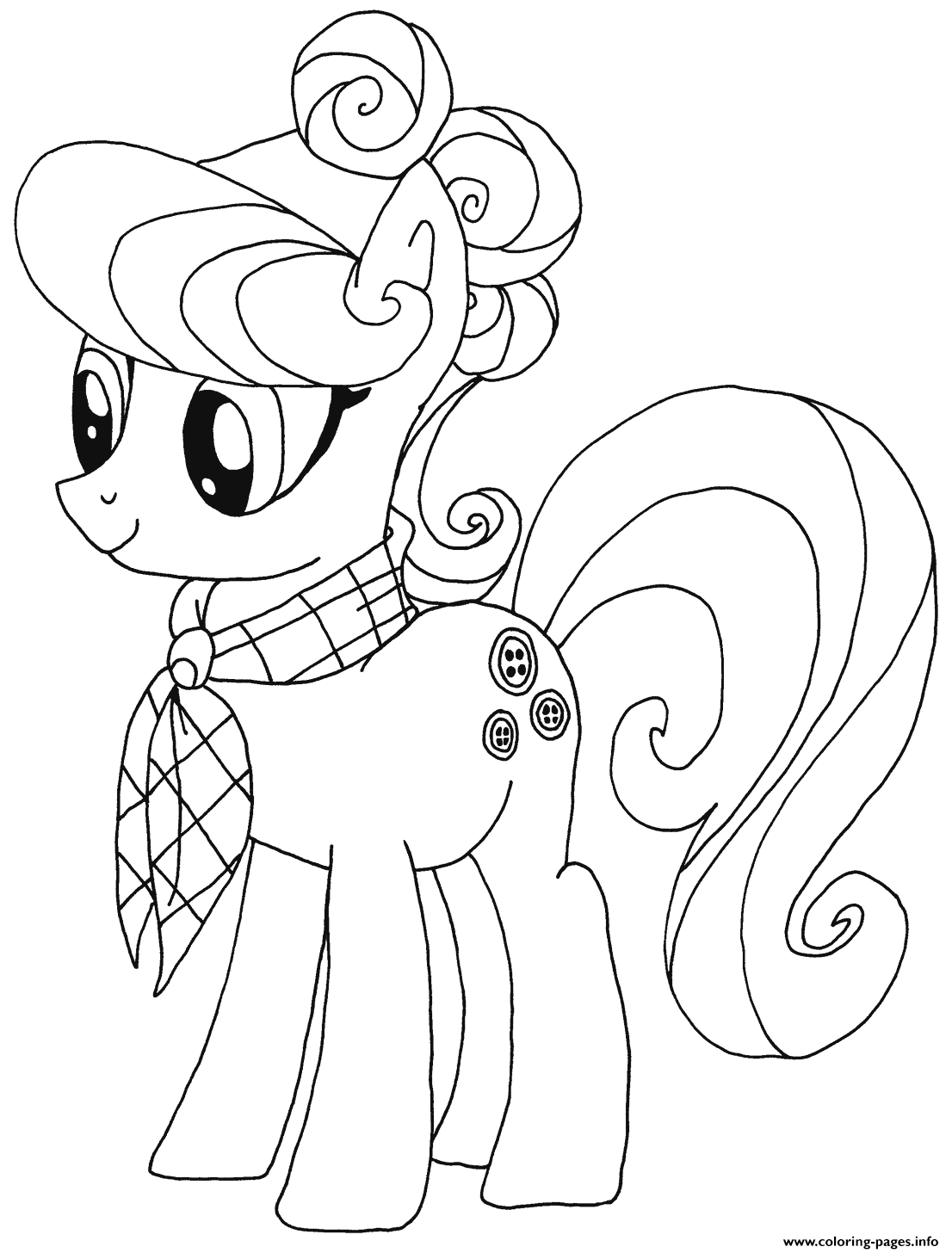 Suri Polomare My Little Pony coloring pages