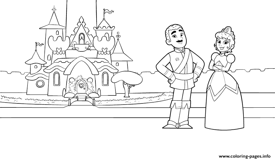 King Dad And Queen Mom Nellas Parents coloring pages