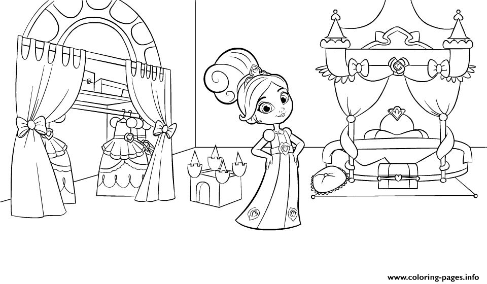 fantasy knights princesses coloring pages - photo#48