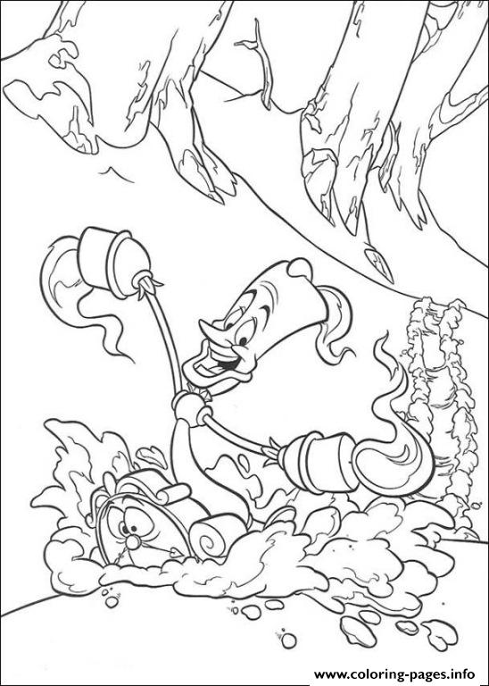 Lumiere Being Funny 5288 coloring pages