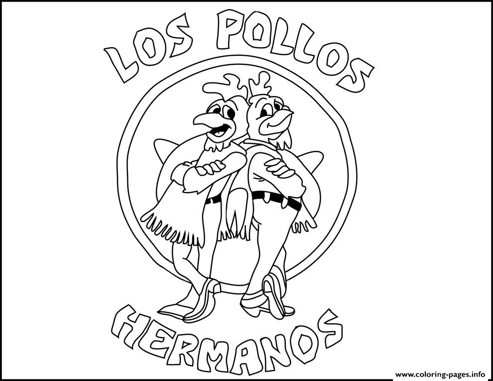 Hey Hermano Breaking Bad coloring pages
