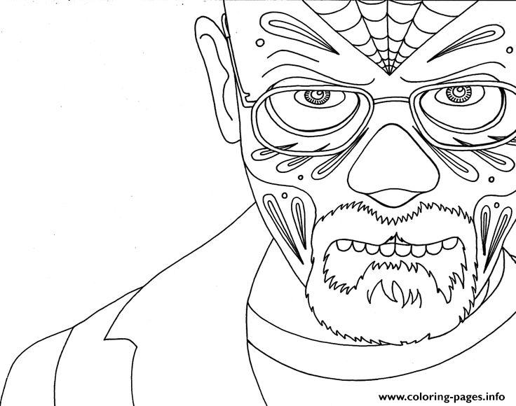 Breaking Bad 6 Coloring Pages Printable