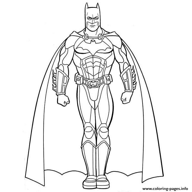 Batman Ami De Iron Man Superheros Coloring Pages Printable