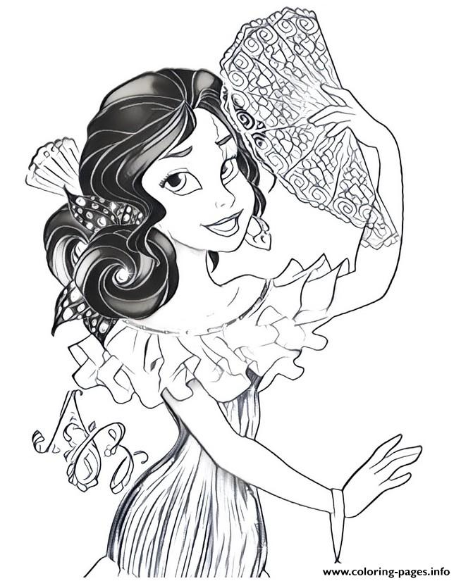76 Coloring Page Elena Of Avalor