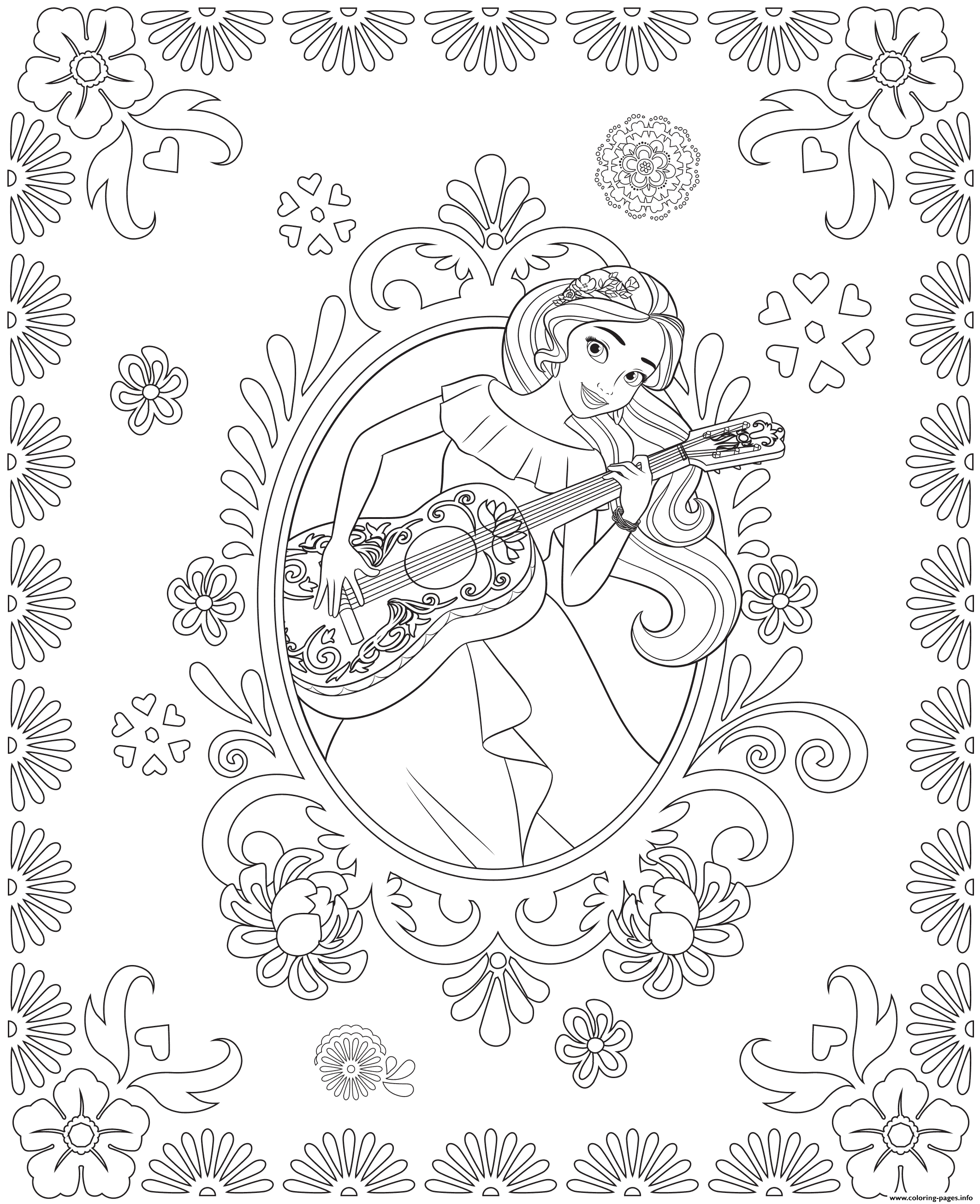 Princess Elena And Storytime Guitar Disney Princess Free