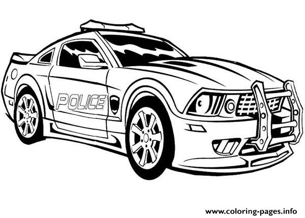 Dodge Charger Police Car Hot Coloring Pages Coloring Pages ...