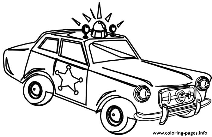 print very old police car coloring pages coloring pages - Police Car Coloring Pages