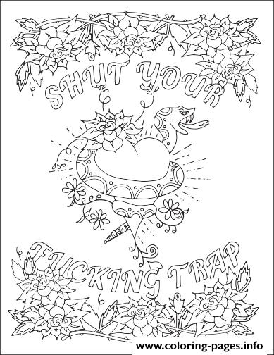 Sp Syft Word Bad Quotes coloring pages